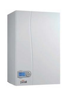 Ferroli ECONCEPT ST 35 N de 36,7 KW con kit de salida de gases para reposición con acumulación (caldera GLP mural estanca mixta de condensación)
