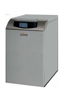 Ferroli ATLAS D30 SI UNIT de pie de 30 Kw. Mixta. Kit combustión estanca opcional (caldera para gasoil de tiro natural)