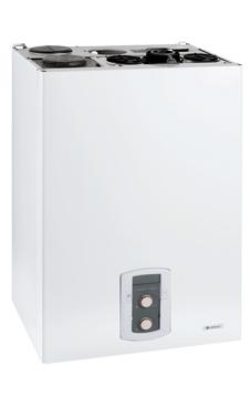 Chaffoteaux-maury NIAGARA C GREEN 35 FF EU con acumulador de 40 l. con Eco Delta System y display LCD de 35 KW con placa de conexiones y kit salida de humos. (caldera GLP mural estanca mixta de condensación)