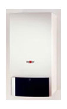 Wolf CGB K 40-35  de 40 KW con salida de gases horizontal, (no incluye el vaso de expansión) (caldera gas propano mural estanca mixta de condensación)