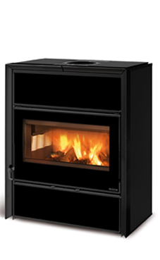 NORDICA-EXTRAFLAME modelo FLY IDRO D.S.A. 15,4 Kw negro-crystal